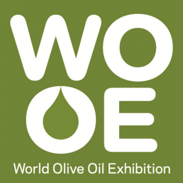 Logotipo de WOOE, World Oil Exbibition