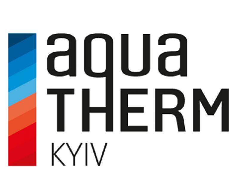 Logotipo de AquaTherm Kiev