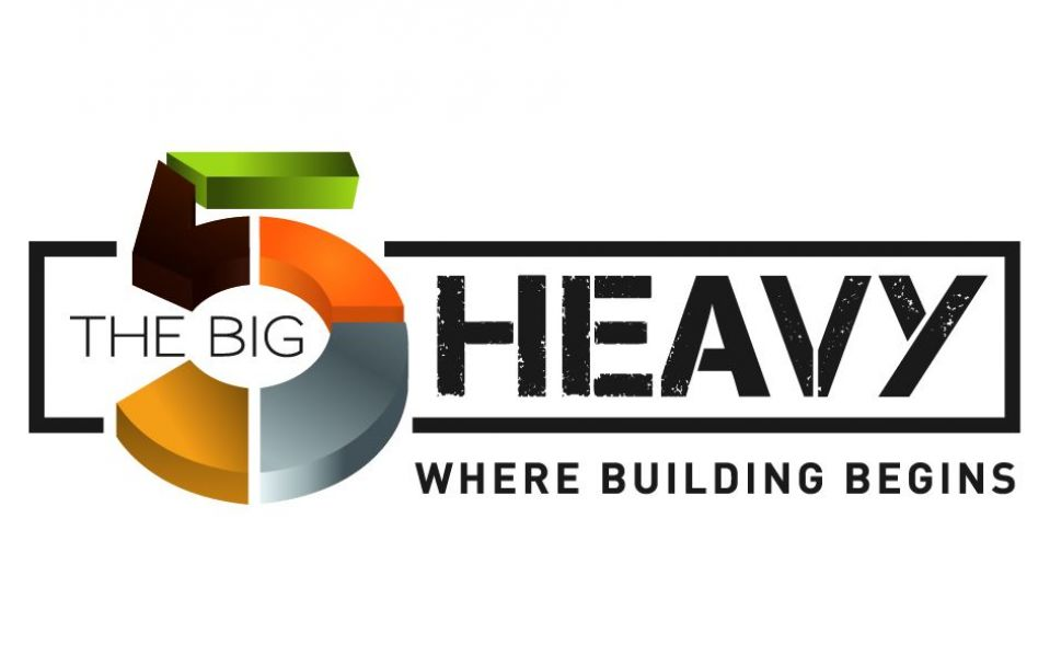 Logotipo de The Big 5 Heavy & Concrete